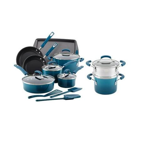 rachael ray 15 piece cookware set review