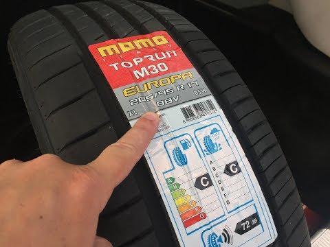 momo tyres outrun m3 review