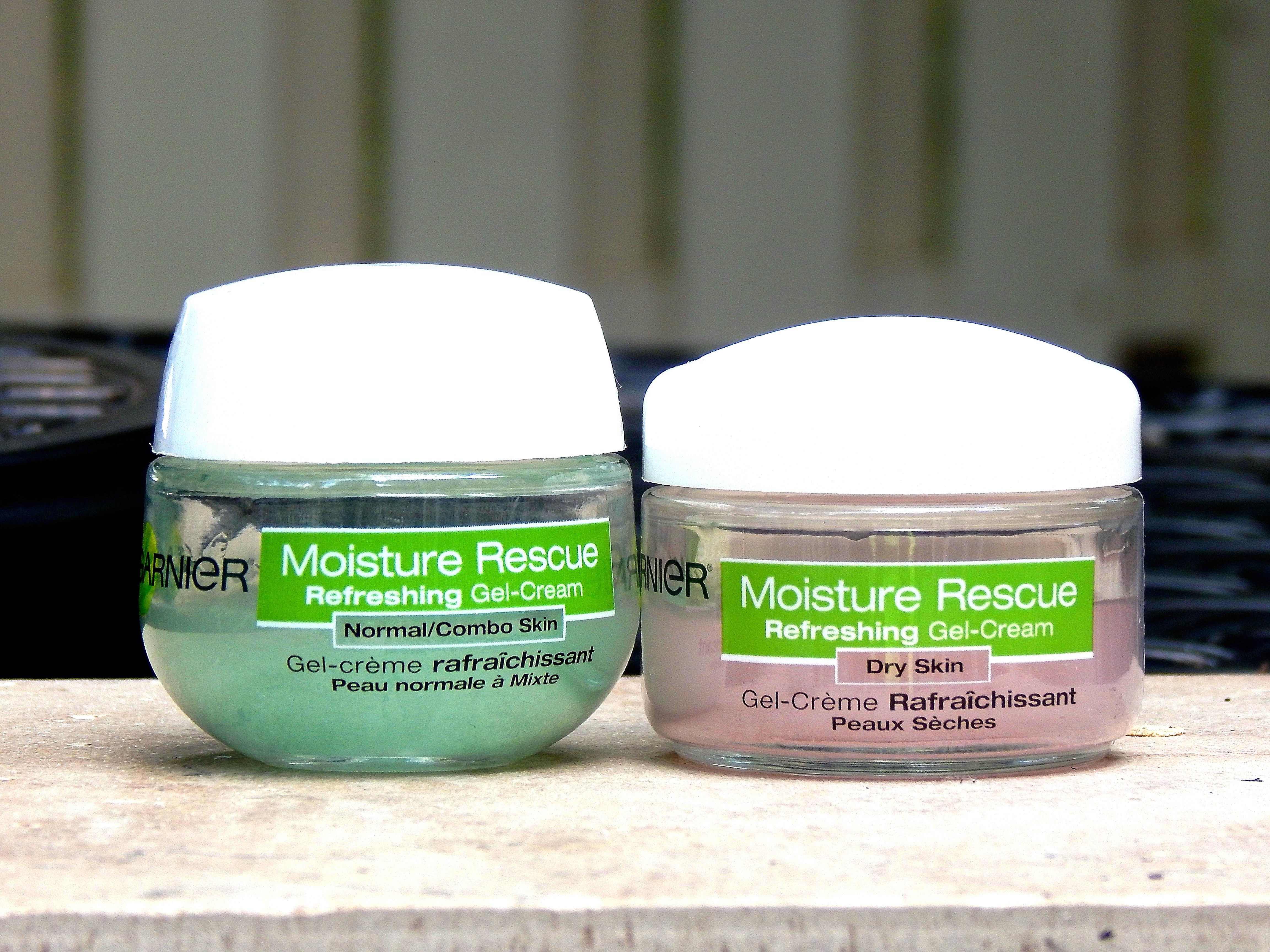 garnier gel moisturizer dry skin review