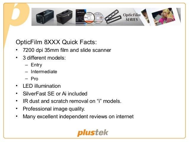plustek opticfilm 8100 35mm film and slide scanner review