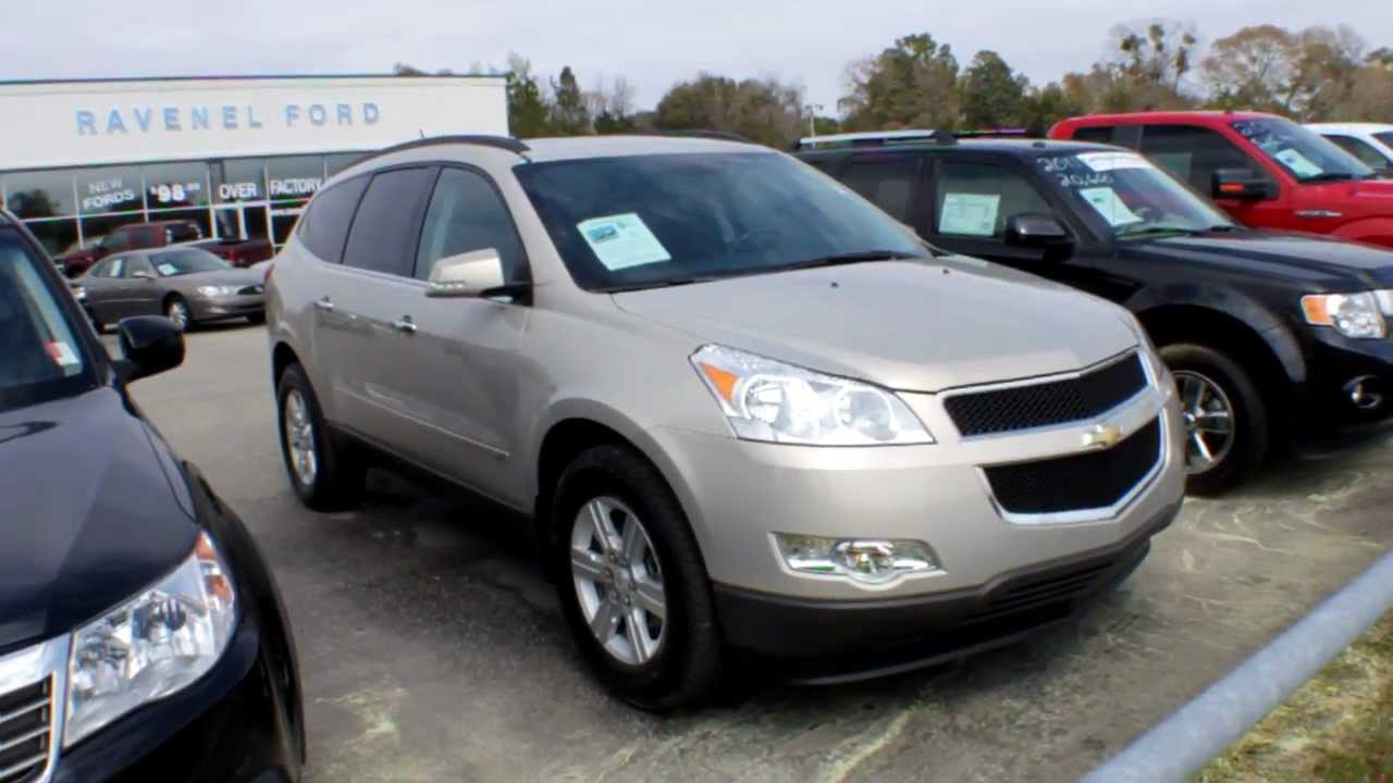 2010 chevy traverse lt reviews