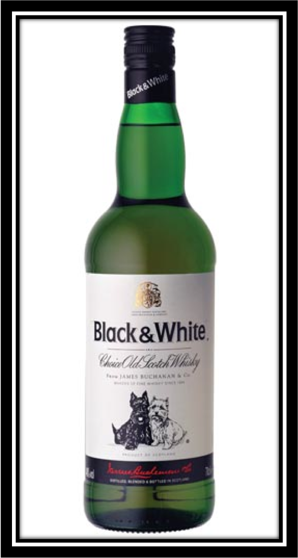 black and white whisky review