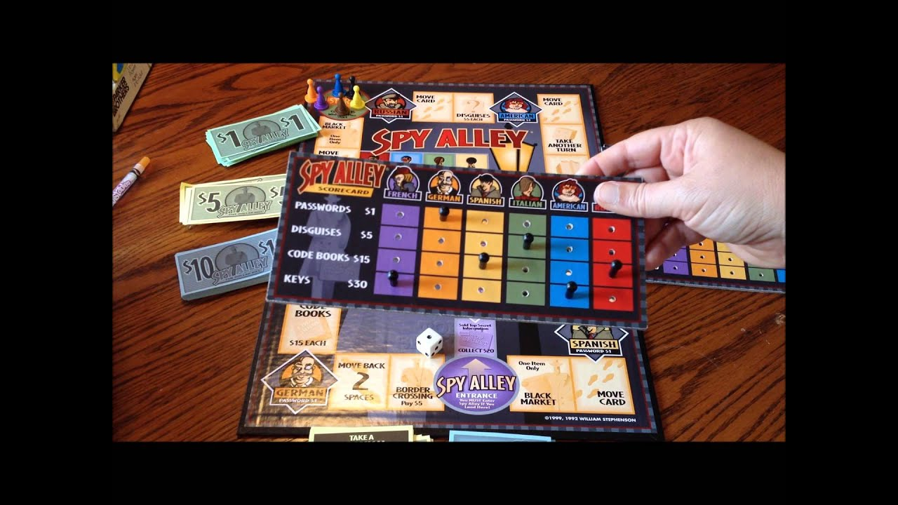 spy alley board game review