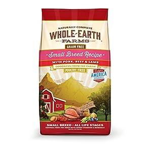 whole earth farms grain free dog food reviews