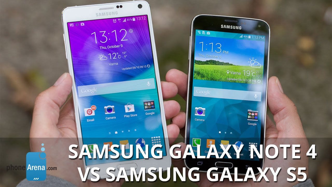 note 4 vs s5 review