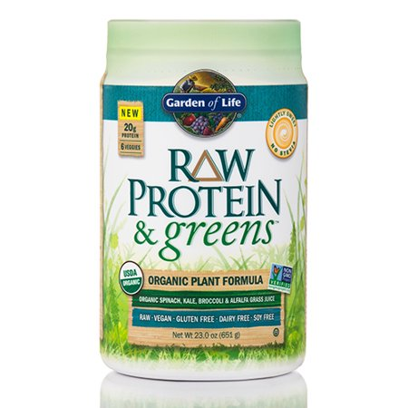 garden of life raw protein and greens review