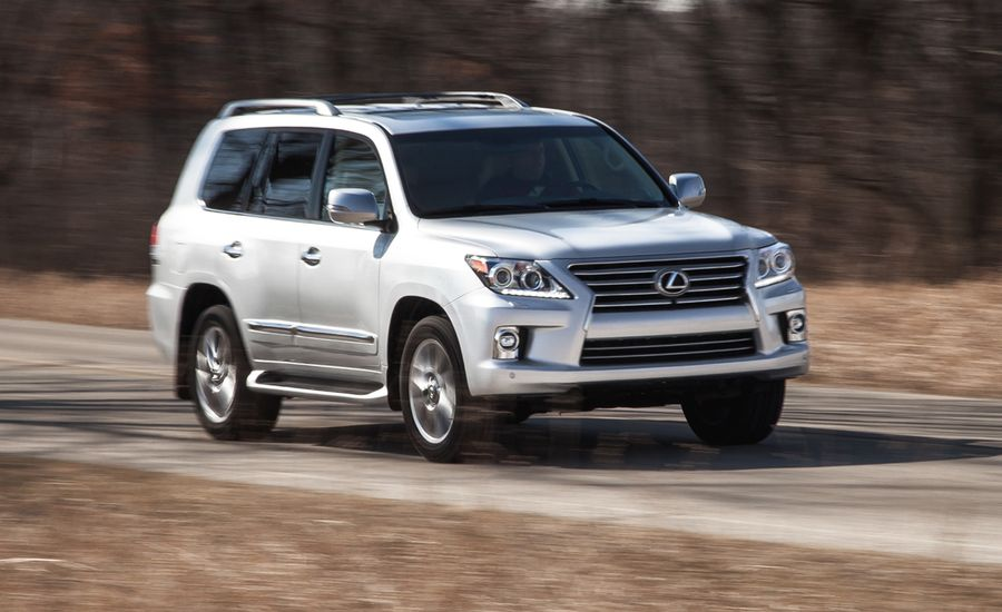 2008 lexus lx 570 review