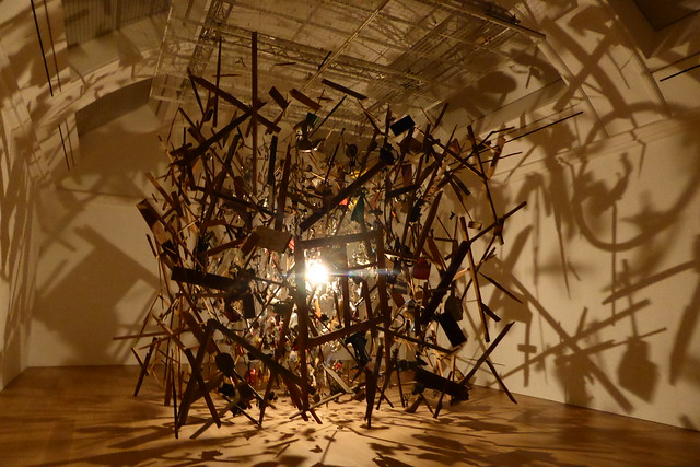 cornelia parker cold dark matter review
