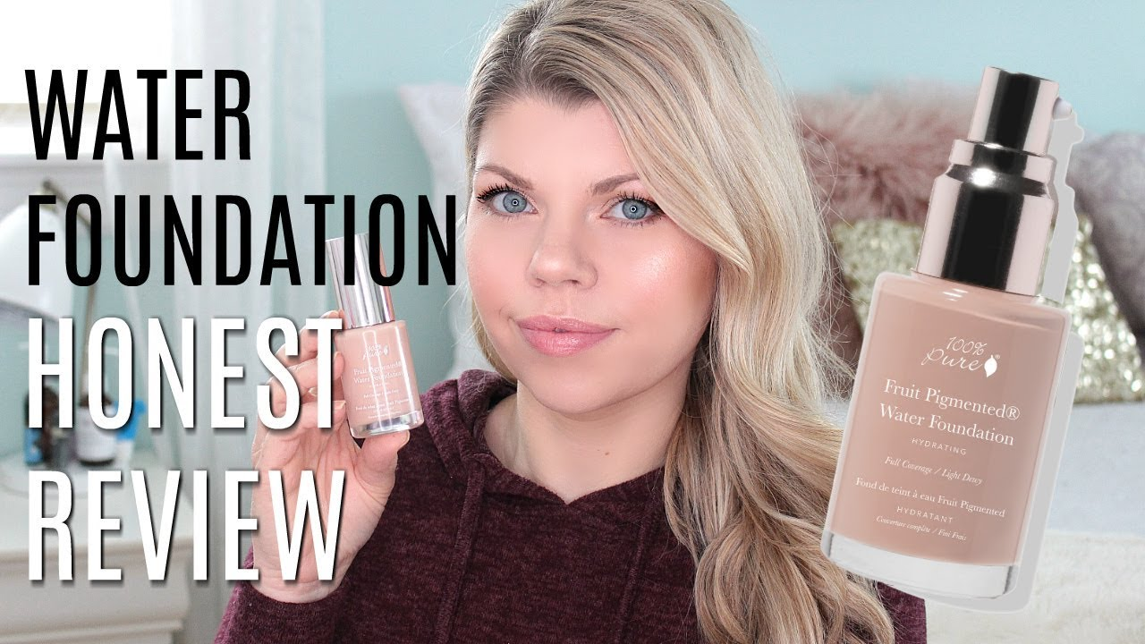 100 percent pure water foundation review