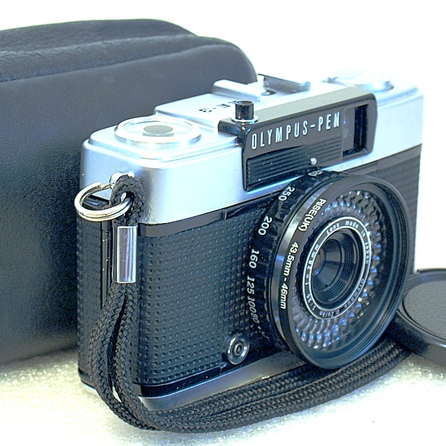 olympus pen film camera review
