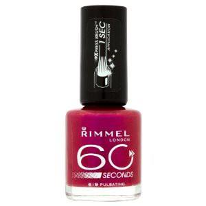rimmel 60 second nail polish review