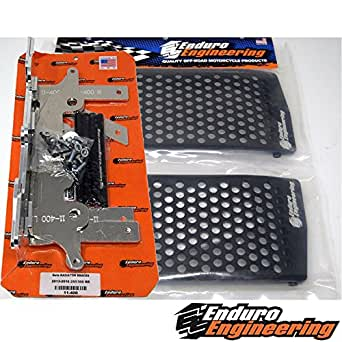 enduro engineering radiator braces review