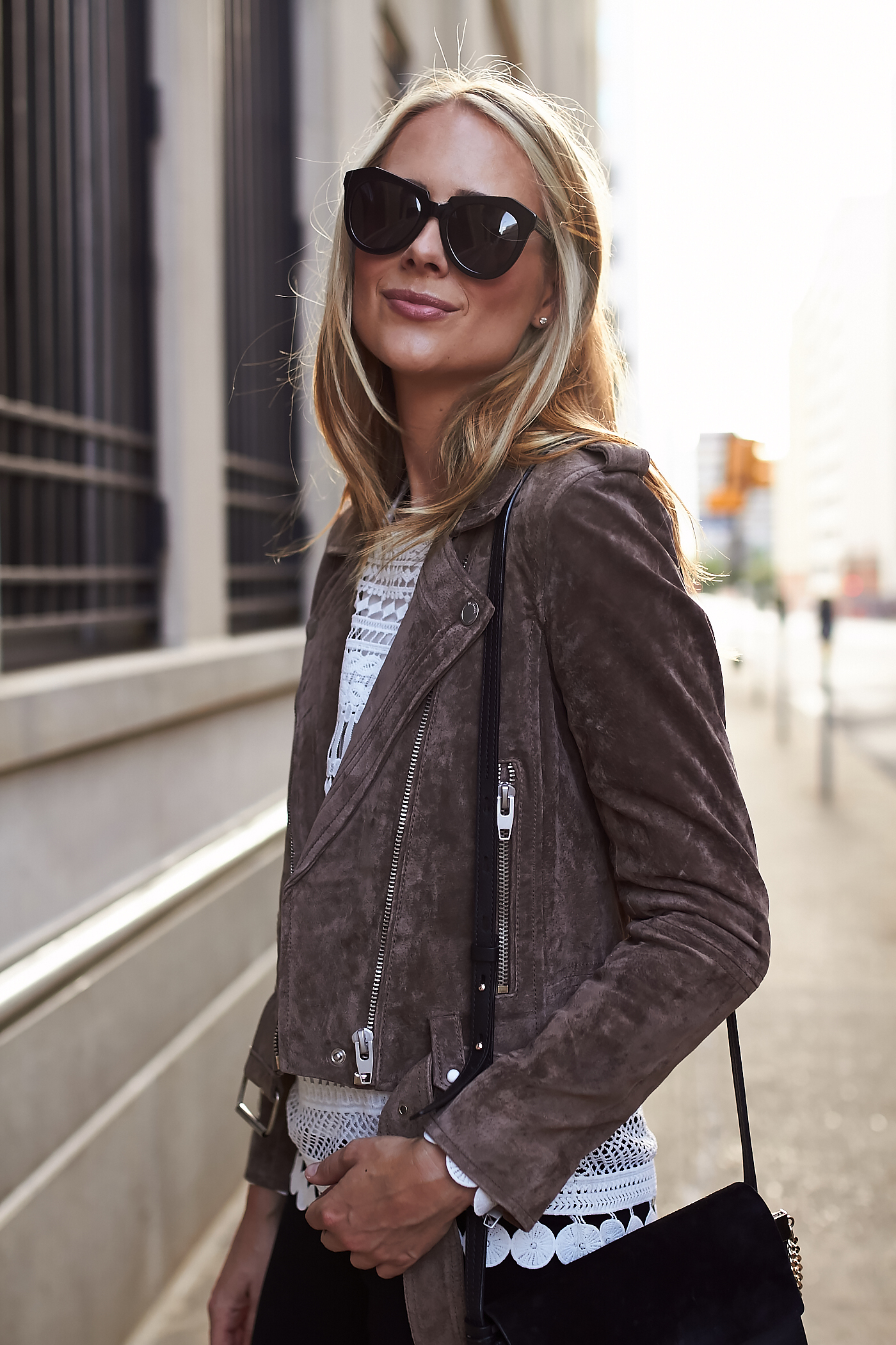 blanknyc suede moto jacket review