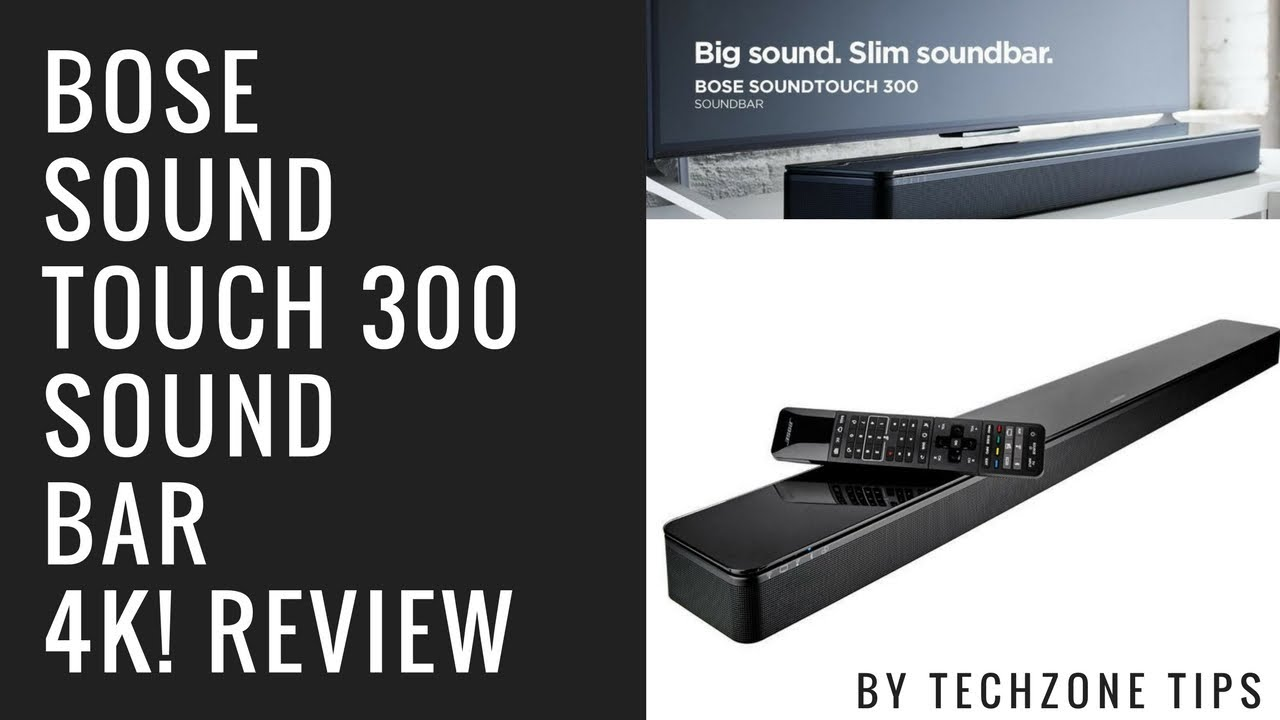 bose soundtouch 300 review youtube
