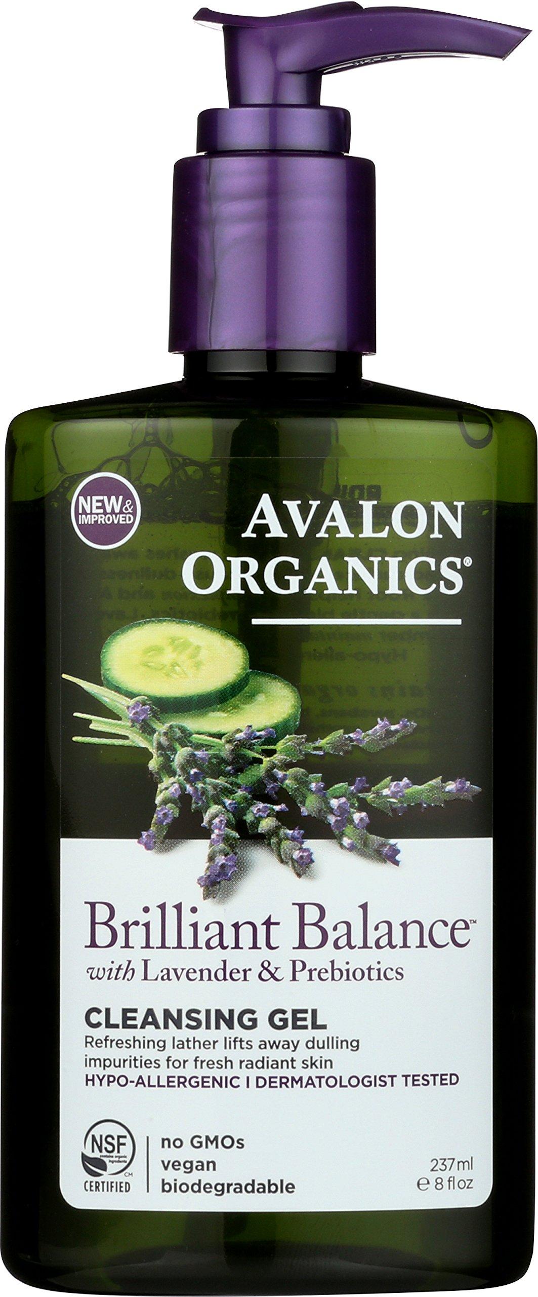 avalon organics brilliant balance cleansing gel review