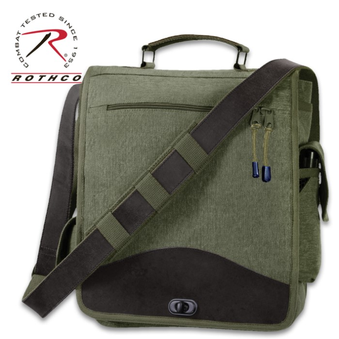sierra club field messenger bag review
