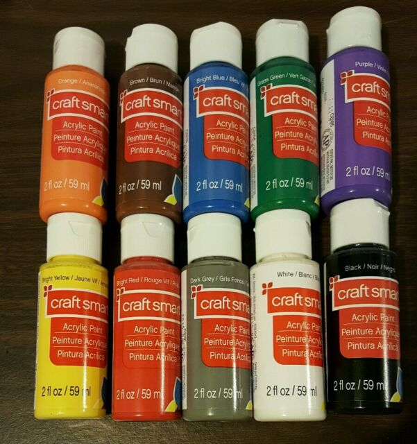 craft smart acrylic paint review