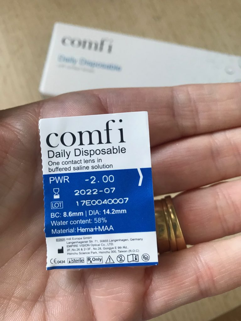 daily wear contact lenses reviews