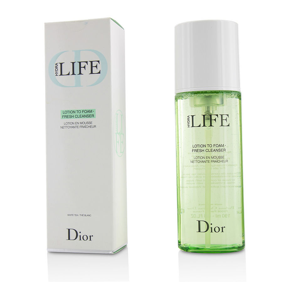 dior hydra life lotion to foam fresh cleanser review