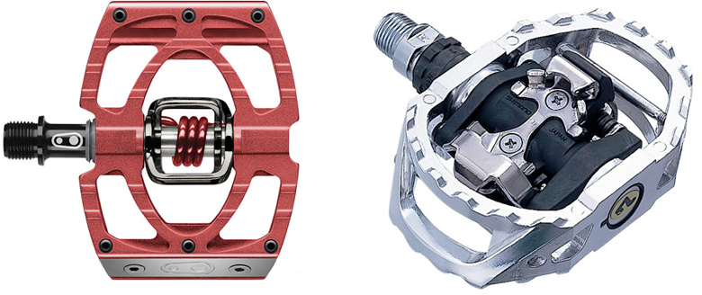 mountain bike clipless pedals reviews