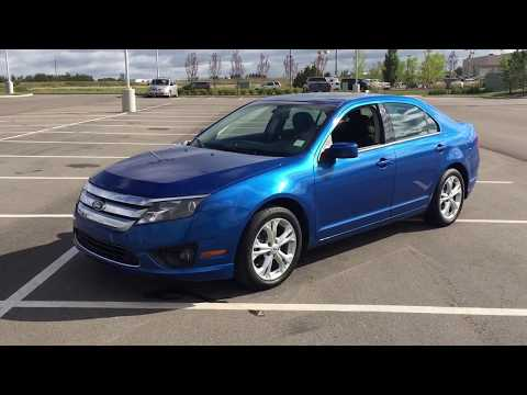 2012 ford fusion sel review