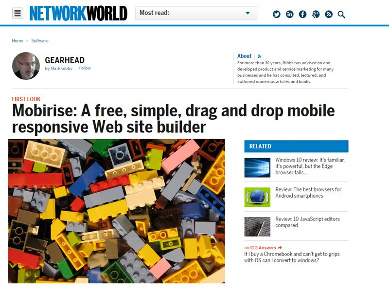 free website builder software reviews