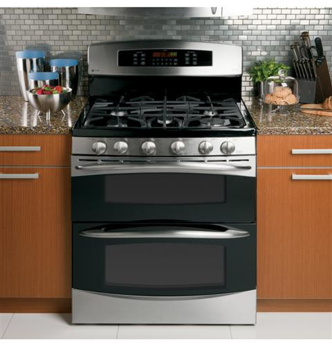 ge profile double oven gas range reviews