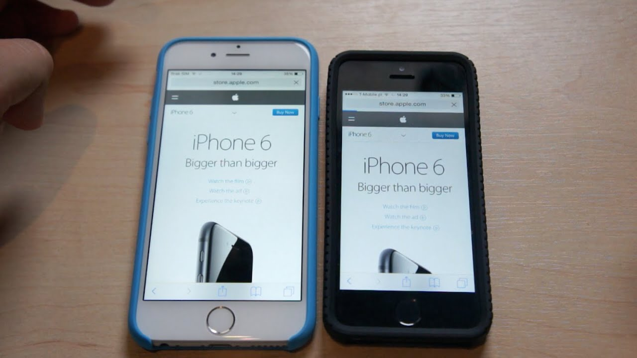 iphone 5s vs se review