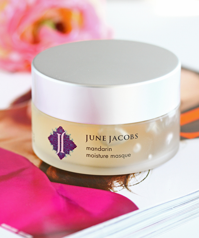june jacobs mandarin moisture masque review