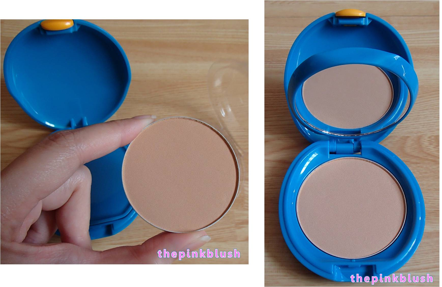 shiseido uv protective compact foundation review