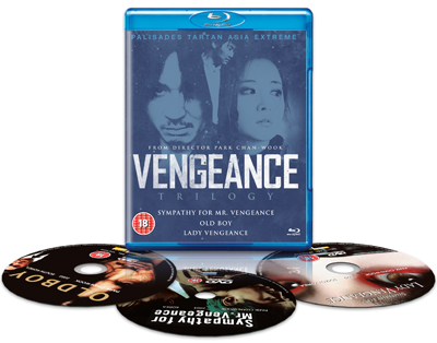 vengeance trilogy blu ray review